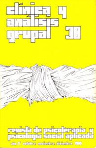 Revista Clínica y Análisis Grupal número 38
