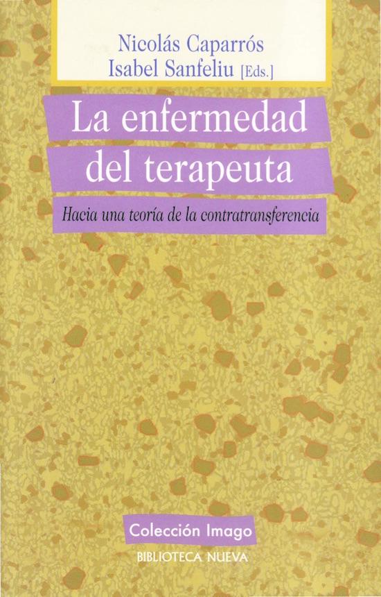 La enfermedad del terapeuta. Libros psicología.