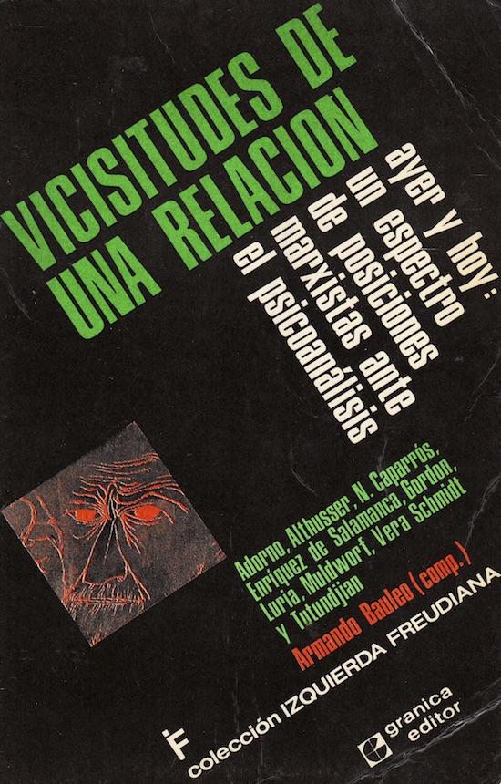 Visicitudes de una relación. Libros psicologia y psicoanalisis