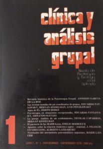 Número uno de Clínica y Análisis Grupal