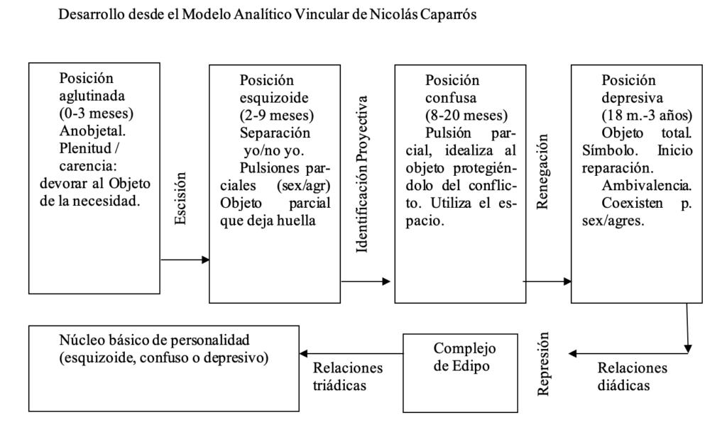 Desarrollo modelo analítico vincular