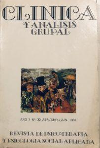 Clínica y Análisis Grupal número 33