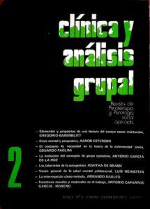 Clínica y análisis grupal número 2