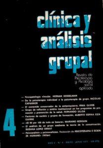 Clínica y análisis grupal 4